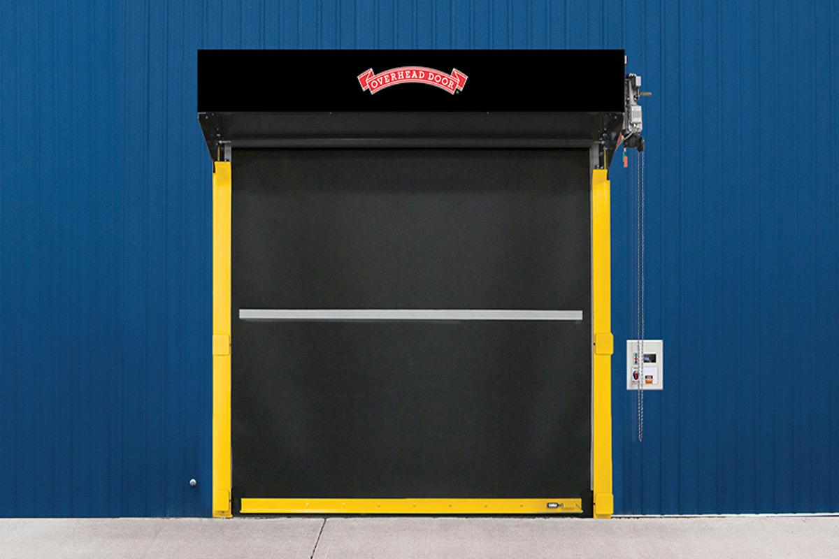 High Speed Rubber Doors Overhead Door Company Of Central
